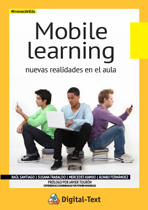 Portada mobile learning ePub